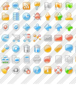 Icon Buttons For Windows XP Transparent Web Button