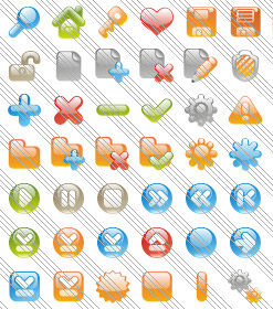 Creating Animated Web Menus Iphone Button Blue Icon