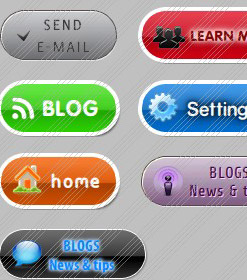 Vista Web Photoshop Tutorial Xp Button Template