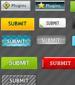 Web Icons Glass Animated Buttons For Html