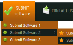 flash web 2 0 menu buttons HTML Commands For Cool Buttons