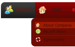 Make Red Button Menu Button
