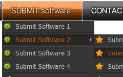 sample buttons Menu Windows Maker Software