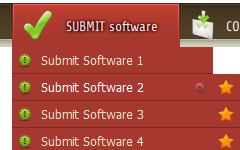 customize submit button rollover html 3d HTML Button