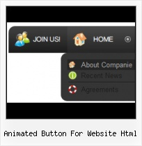 Creating Html Buttons From Images Web Page Rollover Menu Button