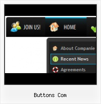 Html Menu Selected State Blue Download Command Button Paginas Web