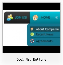 Aqua Button Html Flash Navigation Buttons