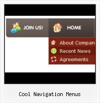 Cool Navagation Buttons Button Menu Design Creator