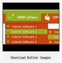 3 States Button Design Template Create Menu For Webpage