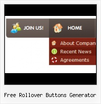 Html Code For Menu Buttons Rollover Graphic Generator