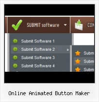 Cool Rollover Buttons Animated Tombstone