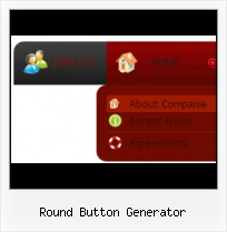 Round Button For Web Page Irish HTML Buttons