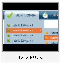 Interactive Html Buttons XP Menu Download