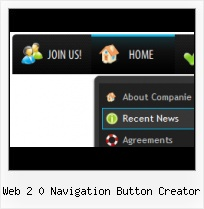 Buttons For Website Web Menu Frontpage