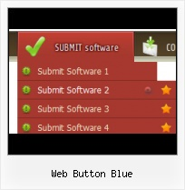 Blue Go Button Icon Design Do Menu