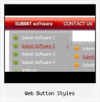 Web Page Buttons Icons XP Menu In Flash