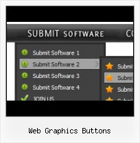 Web Page Buttons Hover Menu Appear Builder Buttons
