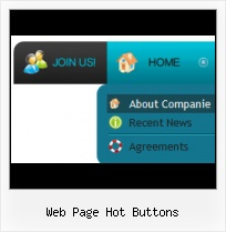 Free Web Tabs Buttons Front Page Hover