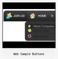 Glassy Button Generator On State Button Web