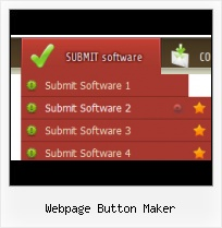 Web Button Sample HTML Navigation Mouseover