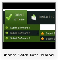 Glass Button Menus Photoshop XP Style For Website