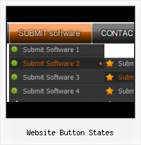 Web Page Menu Buttons Animated Browser Buttons