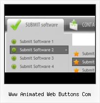 Animated Navigation Buttons Blue Web Buttons Dowload