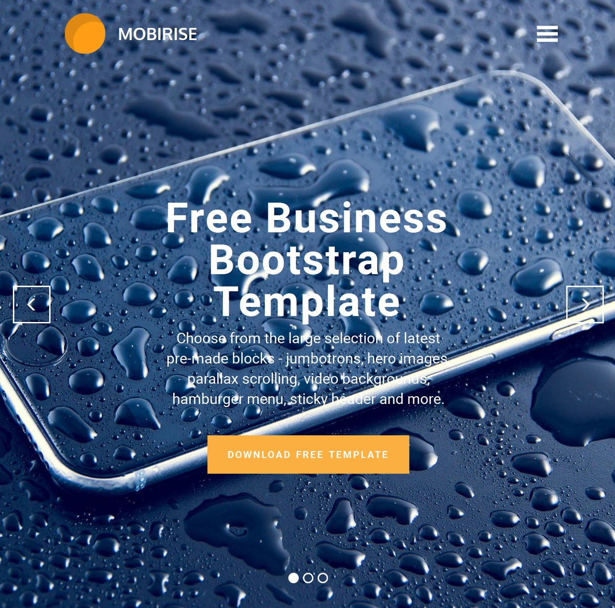 Simple Responsive  Templates Themes Extensions