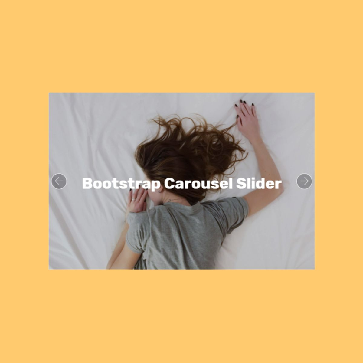 CSS Bootstrap Picture Slider